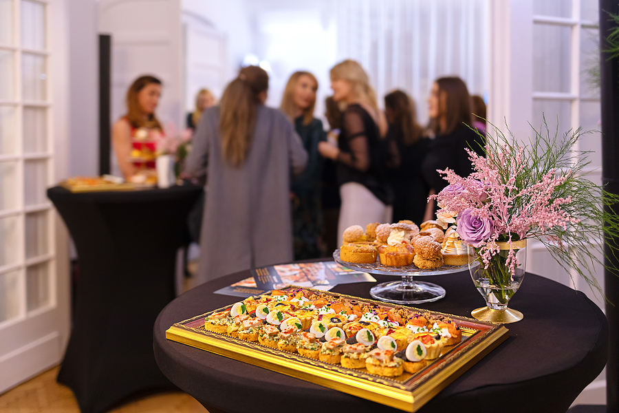 Delicious snacks prepared by the finest corporate caterer in Sydney